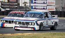 1973 BMW CSL Turbo at Daytona Vintage Classic Race Car Photo CA-1143