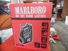 Marlboro Big Sky Radio Emergency  Lantern  siren  NEW MCS-75161