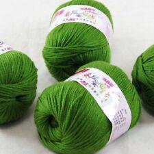 DK Baby Cashmere Silk Wool Crochet Children Hand knit Scarf Yarn 4x50gr Balls 22