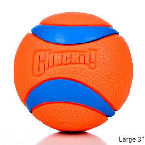 Chuckit Dog Ultra Rubber Ball Large   Free Shipping
