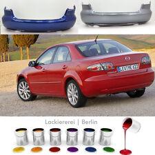 Mazda 6 2005-2007 STOßSTANGE HINTEN LACKIERT IN WUNSCHFARBE neu & passgenau