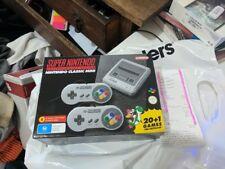 Super Nintendo Entertainment System Classic Mini
