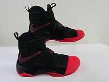 Pre-owned Nike LeBron Soldier X 'Red Toe' Mens Shoes Sz 10.5