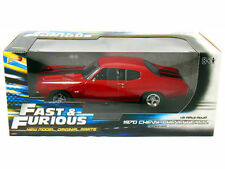 1:18 Fast and Furious  70 Chevy Chevelle SS Red by Johnny Lightning