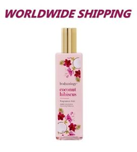 Bodycology Coconut Hibiscus Fragance Mist 8 Fl Oz WORLDWIDE SHIPPING