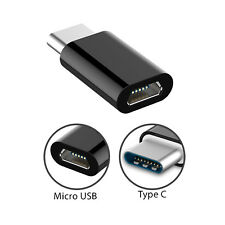 Type-C Adapter Micro USB Female to USB C Male Connector Data Sync Fast Charging