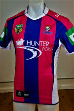 NEWCASTLE KNIGHTS   WOMEN IN LEAGUE JERSEY   PLAYER ISSUED  WITH GRIPS