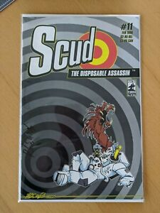 Scud The Disposable Assassin #11 1st Printing 1996 Signed by Rob Schrab