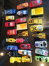Lot Hot Wheels 25 Cars Trucks Diecast Toys loose used Matchbox hotwheels