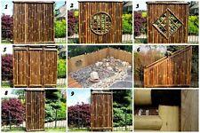 Bambus Sichtschutz Garten Zaun Gartenzaun Windschutz Bambuszaun ANJI NIGRA (BxH)