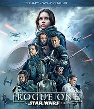 STAR WARS ROGUE EINS - BLU RAY - Region free - Versiegelt