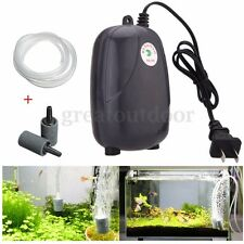 Bubble Disk Stone Aerator Pond Pump 2 Air Hydroponic Oxygen Aquarium Fish Tank