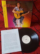 Latin Pop JOSE FELICIANO **Como Tu Quieres** PROMO 1984 Spain LP w/ INFO SHEET!