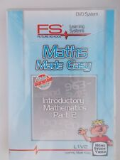 DVD Maths Made Easy Introductory Mathematics Part 2- L1 V2[NEW&SEALED]