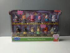 NIP Peppa Pig Fancy Dress Party Exclusive Figure 12-Pack