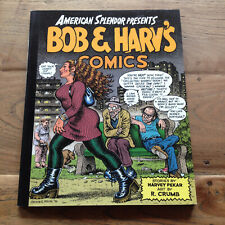 American Splendor/Bob & Harv's Comics by Robert Crumb, signed by Harvey Pekar