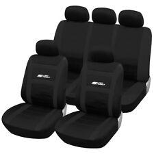 Schonbezüge Sitzbezüge Mercedes C-Klasse schwarz-grau NO2701372 Set