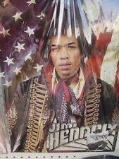 Jimi Hendrix - Flag Tin Sign NIB