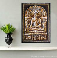 Batik Lord Buddha Wall Hanging Tapestry Print Tibet Decor Poster Bodhi Art India