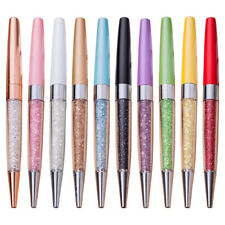 Crystal Diamond Ballpoint Pens Signature Stationery Writing Office School Supply