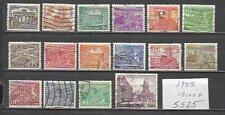 5525-LOTE SELLOS ALEMANIA BERLIN AÑO 1949 15,00€ MONUMENTOS ,ESCASOS,RAROS,USADO