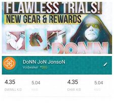 Destiny 2 Trials of the Nine GUARANTEED Flawless (Xbox One & PC & PS4) DoNN