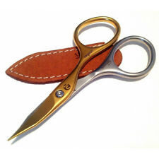 Niegeloh Solingen Combination Scissors Inox Style Titanium Gold Self Sharpened w