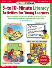 Literacy Activities For Teaching Young Children 5-10 Minute Fun Filled Learning
