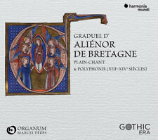Ensemble Organum : Graduel D'Aliénor De Bretagne CD (2019) ***NEW*** Great Value