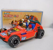 VINTAGE 1970'S CIEN GE TOYS T.V. RACING CAR BATTERY OPERATED DUNE BUGGY WORKS!!