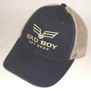 Bad Boy Off Road 1/2 Mesh Trucker Snap Back One Size