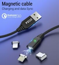 PZOZ Magnetic Cable Type C Fast Charging