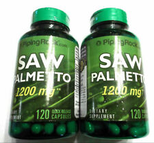 2 Saw Palmetto 1200Mg Per Capsule 240 Total Pills Capsules Prostate health