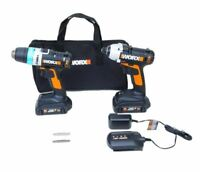 WORX WX948L 20V Ai Drill & Impact Driver Combo Kit