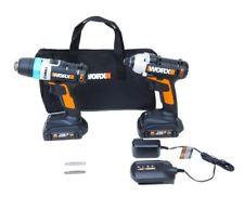 WORX WX948L 20V AI Taladro & Combo Kit de controladores de impacto