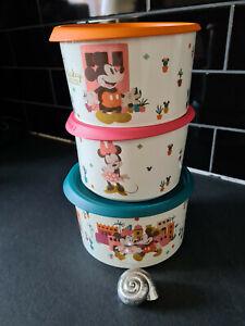 Tupperware # Disney-Set (3) # Mickey + Minnie Mouse # Neu & OVP