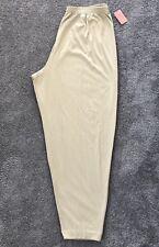 NEW PFI Fashions Khaki Pants With Elastic Waist. Sz 6X. PFI 413