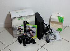 Xbox 360 250GB in OVP mit 2 Controllern und Spiel