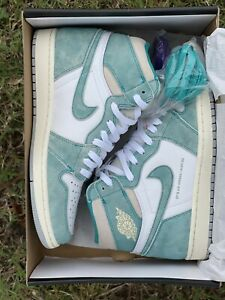 Nike Air Jordan 1 Retro Size 10 Athletic Shoes - Turbo Green (555088-311)