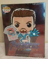 Funko Pop! Tees Marvel Avengers Endgame Tony Stark #449 & Shirt Size L