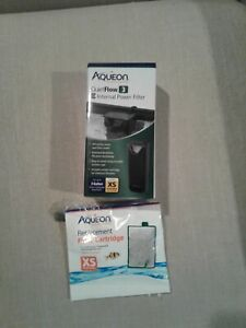 Aqueon Quietflow 3 E Internal Power Filter open box New plus filter