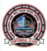 2020 Football Hall of Fame Centennial Class Lapel Pin NEW - POLAMALU NFL