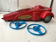MARVEL SUPER HEROES TOYBIZ THE AMAZING SPIDER-MAN DRAGSTER FIGURE VEHICLE