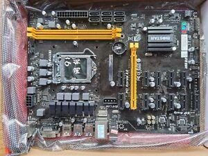 BIOSTAR TB250-BTC PRO 12gpu motherboard Mining great condition