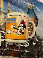 Vintage 1988 Walt Disney Applause Christmas 12oz. Coffee Mug Cup Mickey Minnie