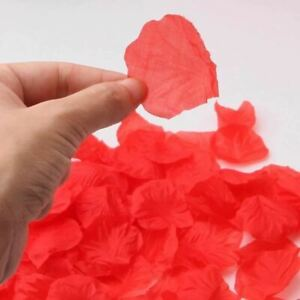 Fake Rose Petals Party Decorations Artificial Flowers Romantic Wedding Marriage