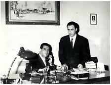 Italia, Il Dott. D'Alessandro e il Dott. Delfino  Vintage silver print Ti