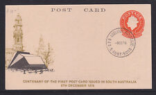 POSTCARD: 1976 CENTENARY OF FIRST POSTCARD ISSUED BY S.A.....