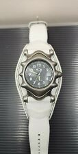 Oakley Saddleback watch white leather mint condition gmt jury judge mm timebomb