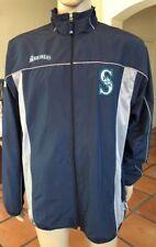Majestic Authentic Seattle Mariners Windbreaker Jacket MLB Size Large L